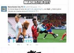 Enlace a Manchester City, ellos sí son gafes