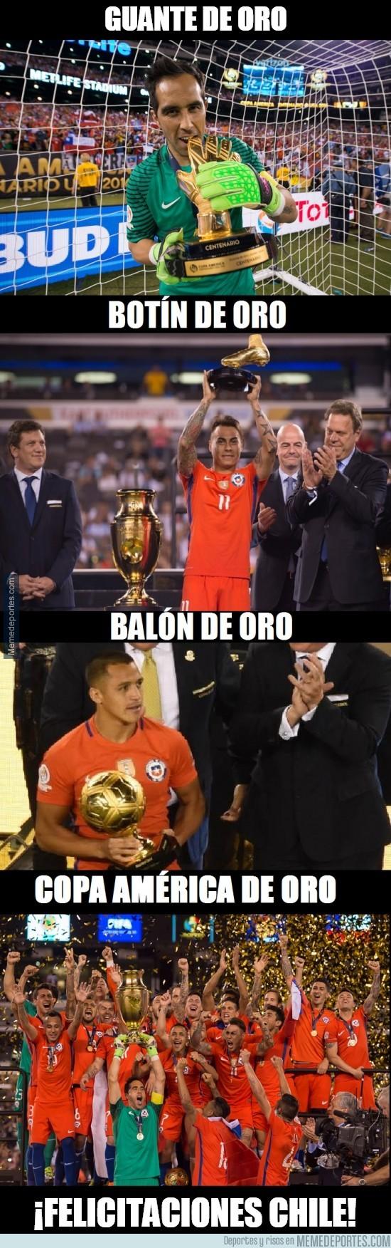 883023 - Chile se lo ha llevado todo en la Copa América