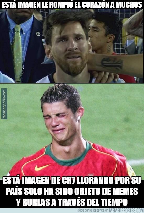 883032 - ¿Por qué esta diferencia entre Messi y Cristiano?