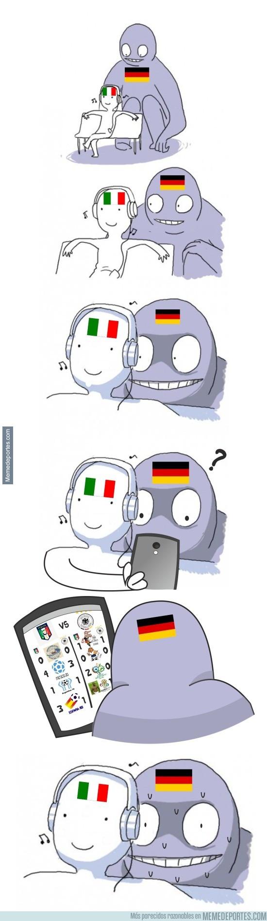 883260 - Alemania, el Coco que tiene a Italia como Coco