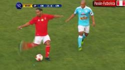 Enlace a Ronaldinho demuestra que aún conserva su magia intacta con un pase sin mirar de 25m