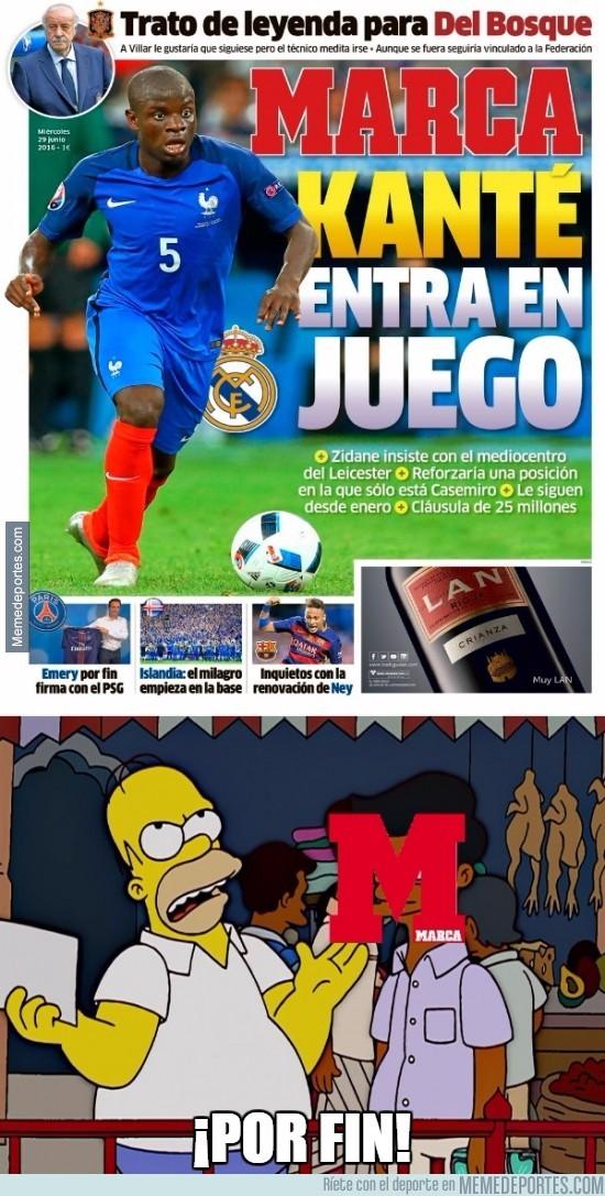 883542 - Marca estaba tardando mucho en empezar los rumores Madrid-Leicester