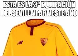 Enlace a Esta es la 3ª equipación del Sevilla para este año