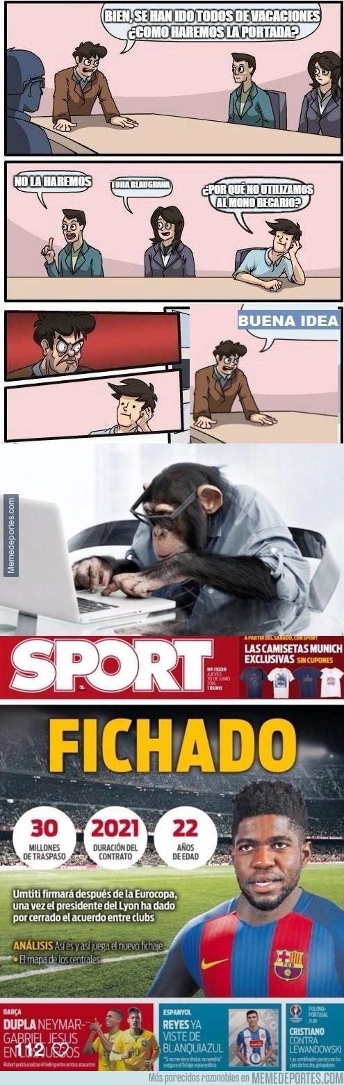 883808 - Así se creó la portada de SPORT