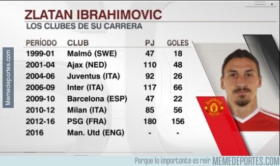 883900 - La carrera de Zlatan, nuevo jugador del Manchester United