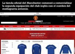 Enlace a  La tienda oficial del United la lía y vende camisetas de fichajes aún no confirmados