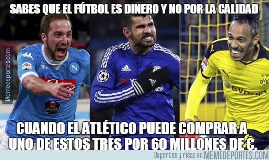 884220 - Sabes que el fútbol es dinero y no por la calidad