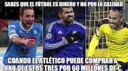 Enlace a Sabes que el fútbol es dinero y no por la calidad