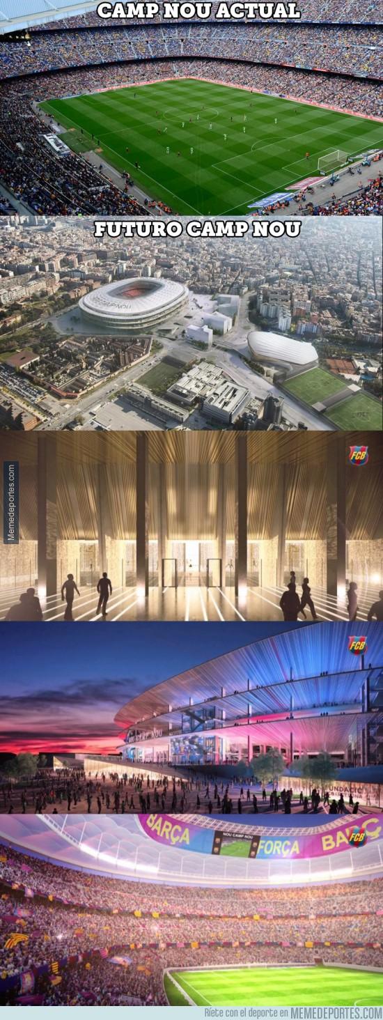 884307 - Así será el futuro Camp Nou
