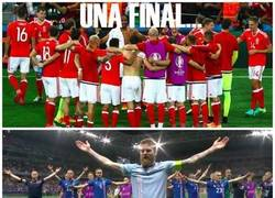 Enlace a La final que todos los aficionados al fútbol queremos