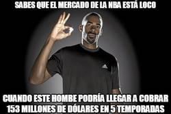 Enlace a El mejor pagado de la NBA