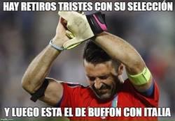 Enlace a Duele ver como se retira Buffon de Italia :(