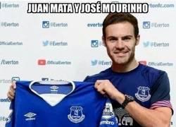 Enlace a Mata huye de Mourinho