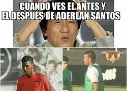 Enlace a El antes y después de Aderlan Santos tras las vacaciones