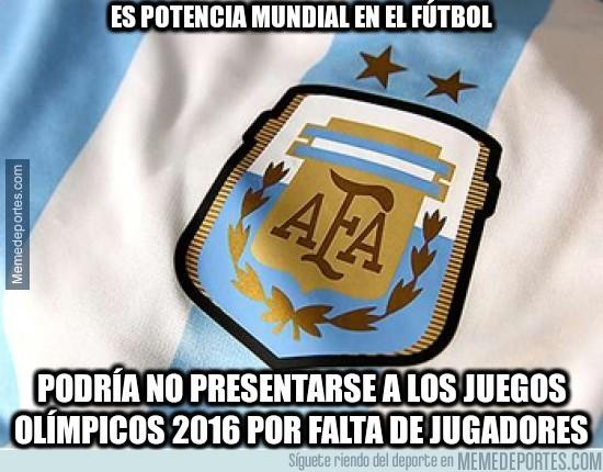 886314 - Está en riesgo la participación de la selección argentina de fútbol en los Juegos Olímpicos