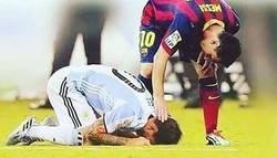 Enlace a Una foto que resume la carrera futbolística de Messi