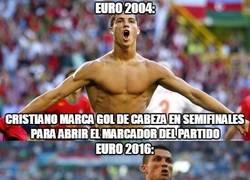 Enlace a Curioso dato de Cristiano Ronaldo en semis