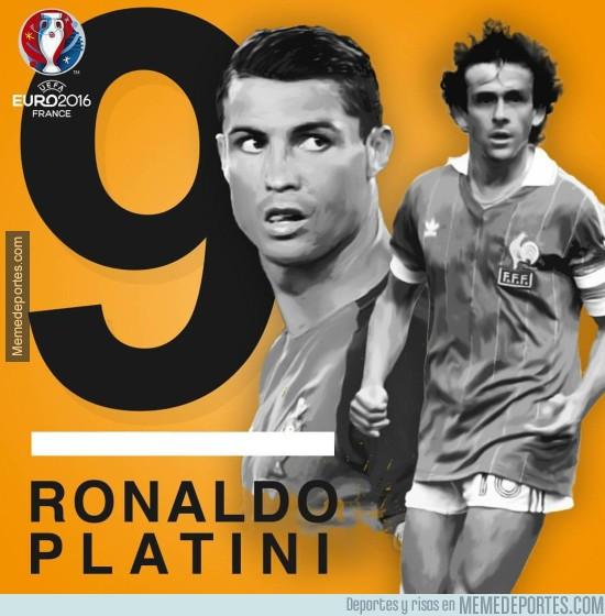886726 - Cristiano empata a Platini como máximo goleador de la Eurocopa