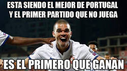 Enlace a Pepe solo sabe empatar