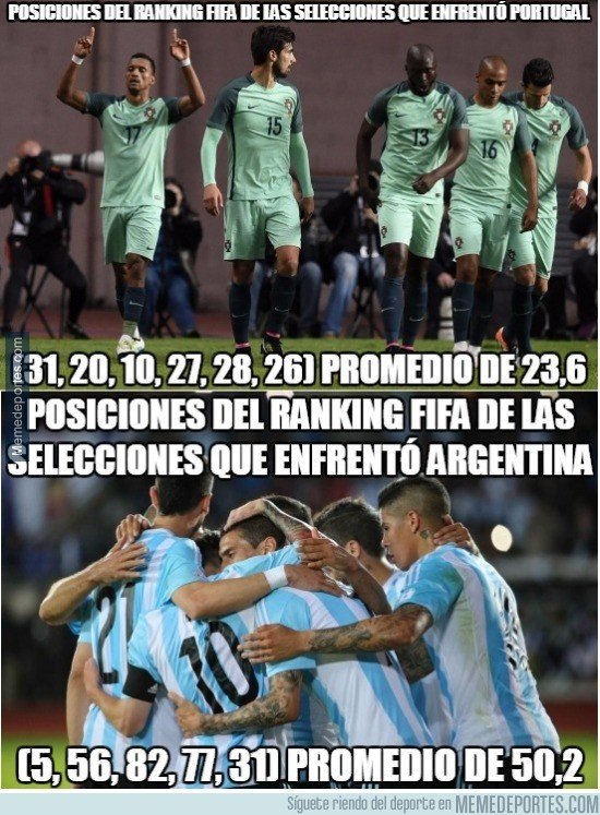 886856 - Camino a la final de Argentina y Portugal
