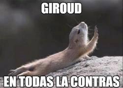 Enlace a Giroud en todas las contras