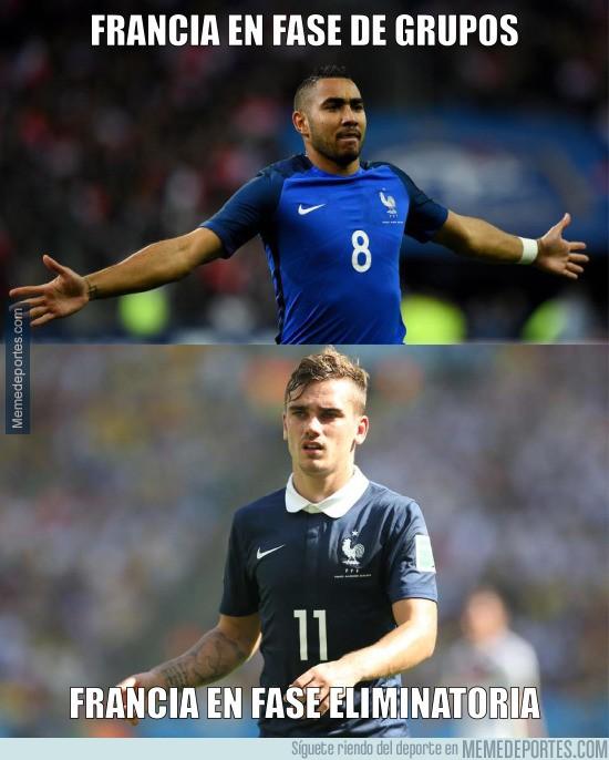 887372 - Los únicos que verdaderamente se han partido la cara por Francia