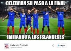 Enlace a La celebración de Francia enfurece a Islandia y les contestan así en Twitter