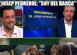 Enlace a Josep Pedrerol y su curiosa confesión