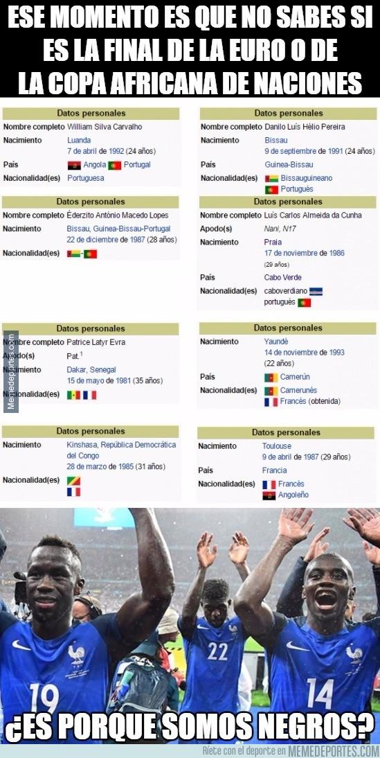 887771 - Inquietante dato de los jugadores de la final de la Eurocopa