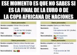 Enlace a Inquietante dato de los jugadores de la final de la Eurocopa