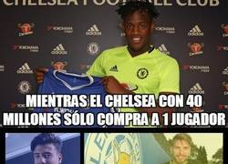 Enlace a Comparativa de los fichajes de Chelsea y Leicester