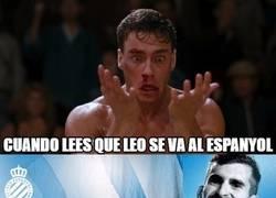 Enlace a Tranquilos culés, no es Messi