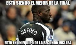 Enlace a Sissoko a un nivel espectacular