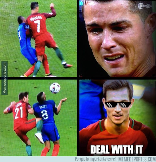 888270 - Cedric vengando a Cristiano Ronaldo