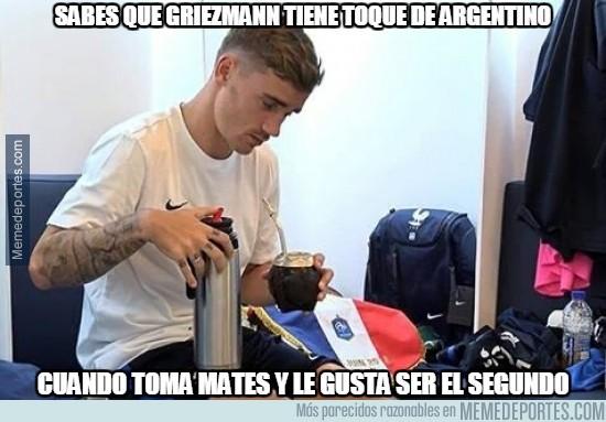 888727 - ¿Tiene Griezmann pasado argentino?