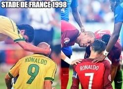 Enlace a Las coincidencias del fútbol con los Ronaldos