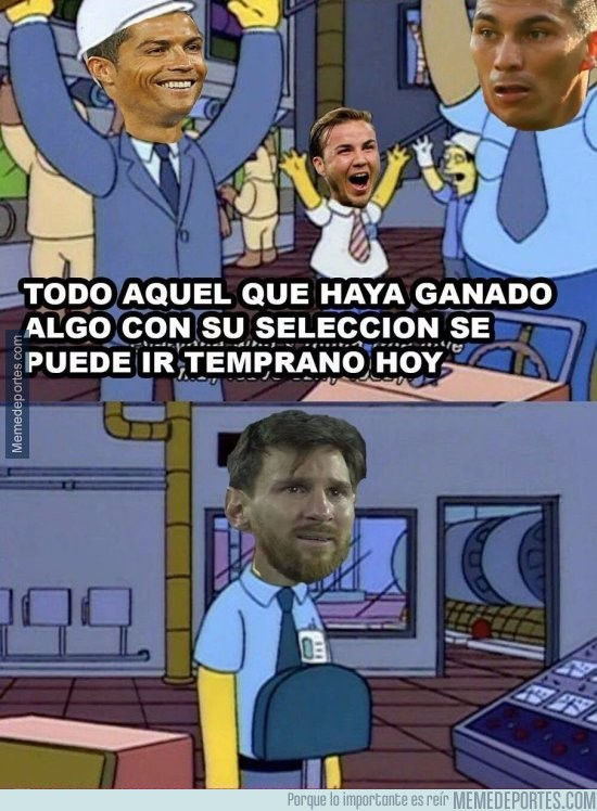 888932 - Messi tendrá que hacer turno completo