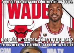 Enlace a Wade explica el motivo de su marcha a los Bulls
