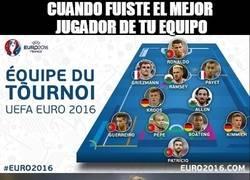 Enlace a ¡INCREÍBLE! Bale fuera del once ideal de la Euro