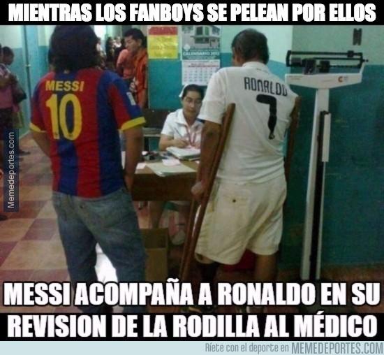 889268 - Enorme el gesto de Messi