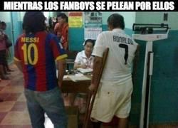 Enlace a Enorme el gesto de Messi
