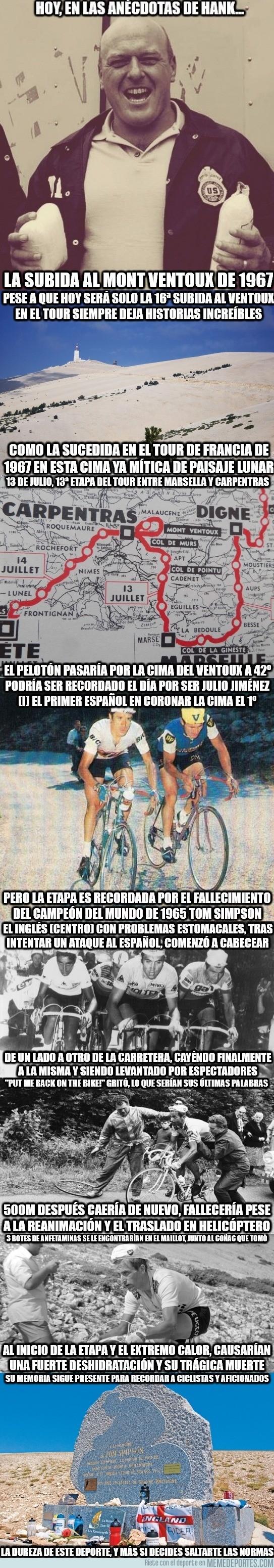 889859 - Anécdotas de Hank: la subida al Mont Ventoux de 1967