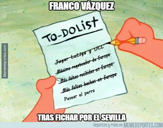 890053 - Franco Vázquez tras fichar por el Sevilla