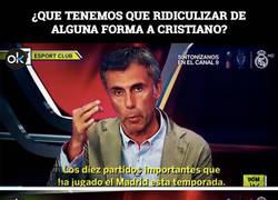 Enlace a BRUTAL: La televisión catalana modifica con Photoshop a Cristiano para ridiculizarle