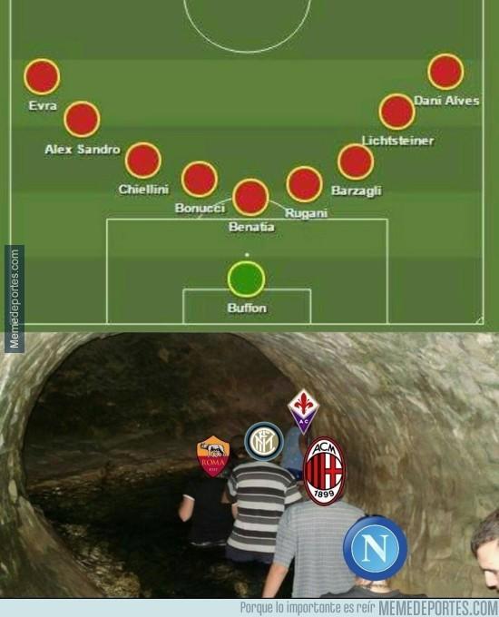 890114 - Delanteros de la Serie A en estos momentos al ver la defensa de la Juve