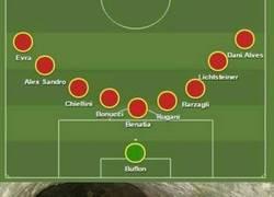 Enlace a Delanteros de la Serie A en estos momentos al ver la defensa de la Juve