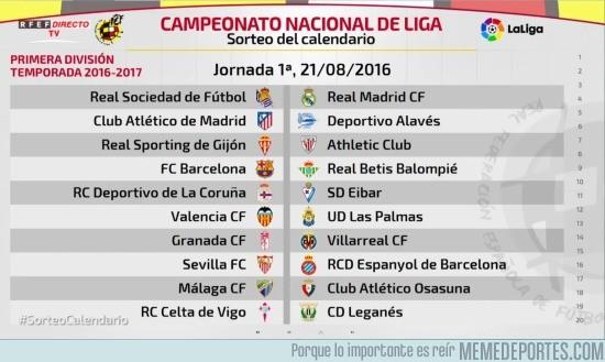 890220 - Ya tenemos primera jornada de LaLiga 2016/2017. ¡Haced la quiniela!