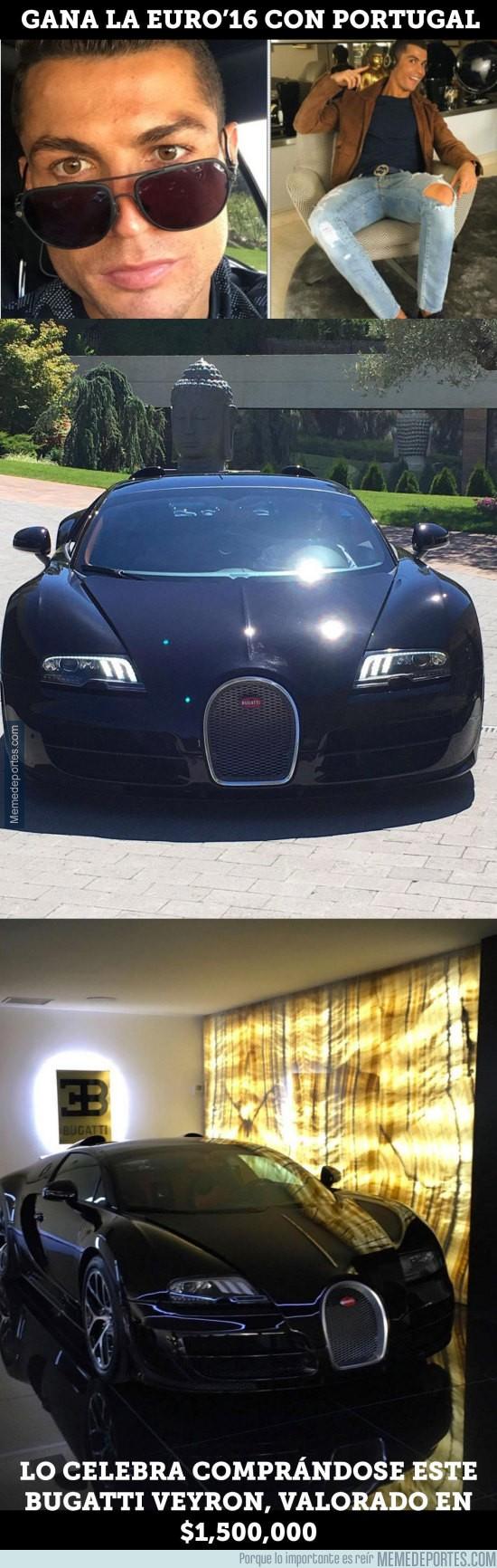 890226 - Cristiano celebra la Euro comprándose un espectacular coche de $1,500,000