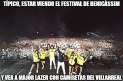 Enlace a Típico, estar viendo el festival de Benicàssim