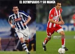 Enlace a El Olympiakos y su manía